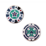 Cachin in Poker Chip Geocoin